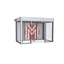Cabina fumatori CF01