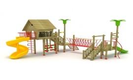 Ansambluri de joaca din lemn - Locuri de joaca pentru copii