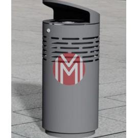 Cos gunoi stradal metalic C02
